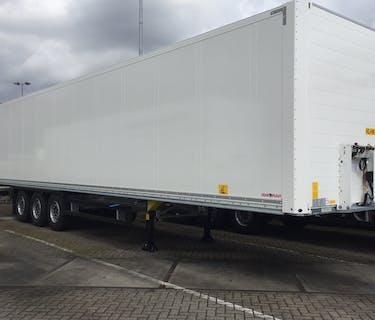 Dubultā kravas furgona piekabe